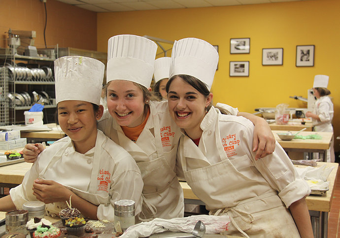 Teens learn how to whip up cakes, pastries, breads and more at UAA's Summer Culinary Bakery Boot Camp